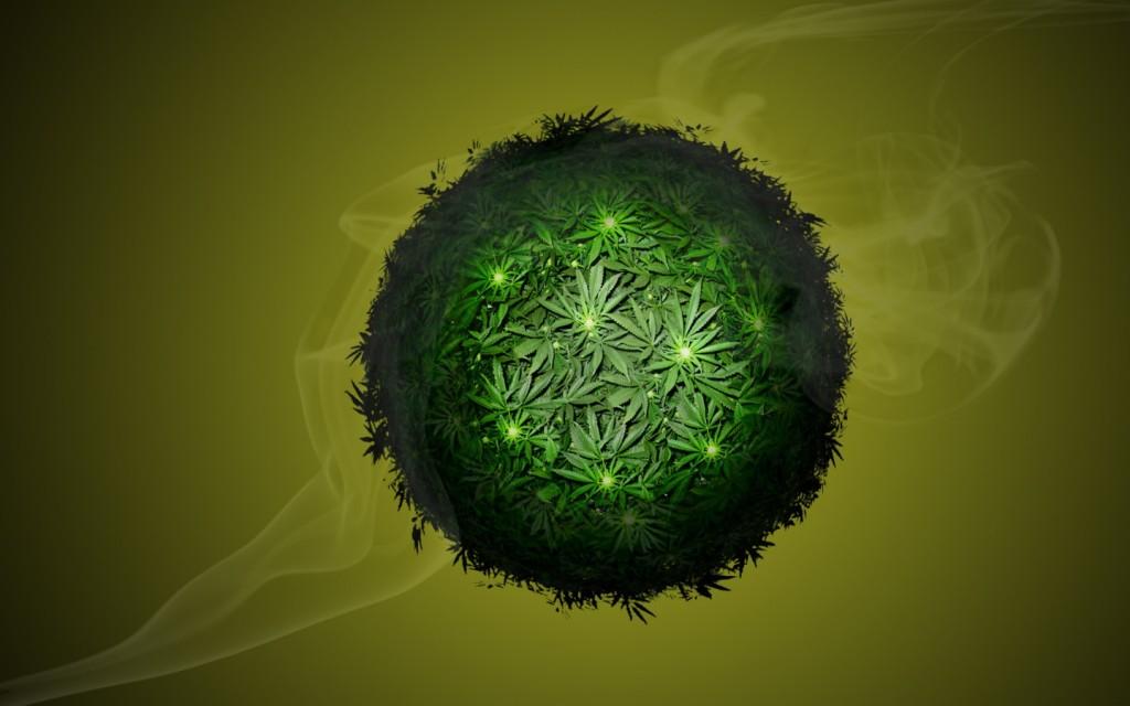 Mapa Mundial Marihuana