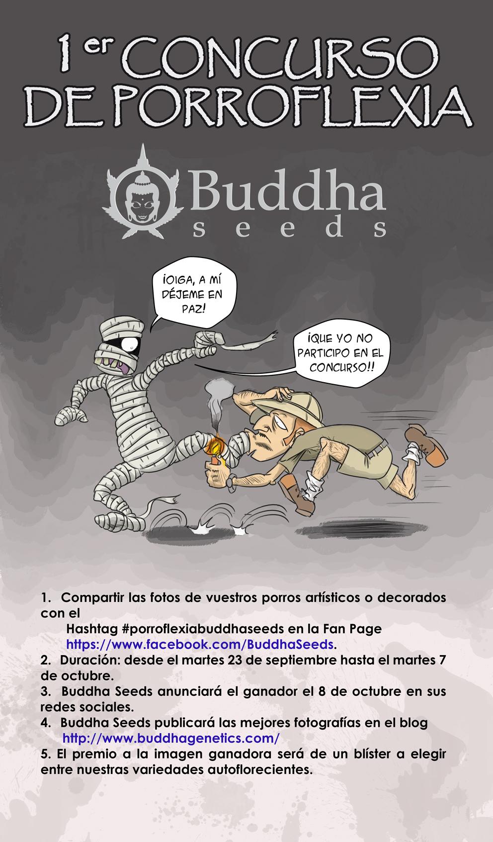 Concurso de porroflexia Buddha Seeds