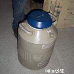 Extracción de hachís con nitrógeno líquido. Foto 4