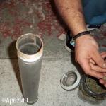 Extracción de hachís con nitrógeno líquido. Foto 7