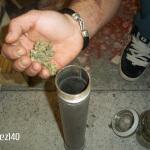 Extracción de hachís con nitrógeno líquido. Foto 8