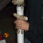 Extracción de hachís con nitrógeno líquido. Foto 9