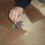 Manicurado extracción de hachís. Foto 11