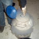 Manicurado extracción de hachís. Foto3