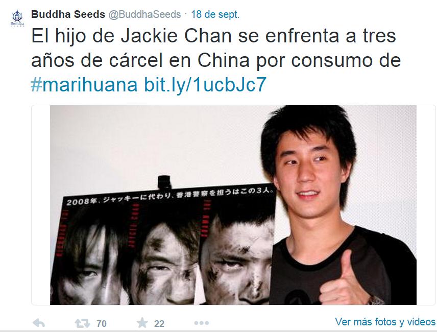 Hijo Jackie Chan