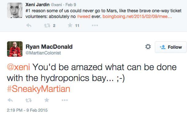 La conversación en Twitter entre Mc Donald y el periodista
