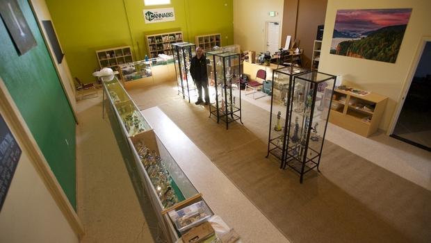 Primera tienda pública de cannabis en EEUU