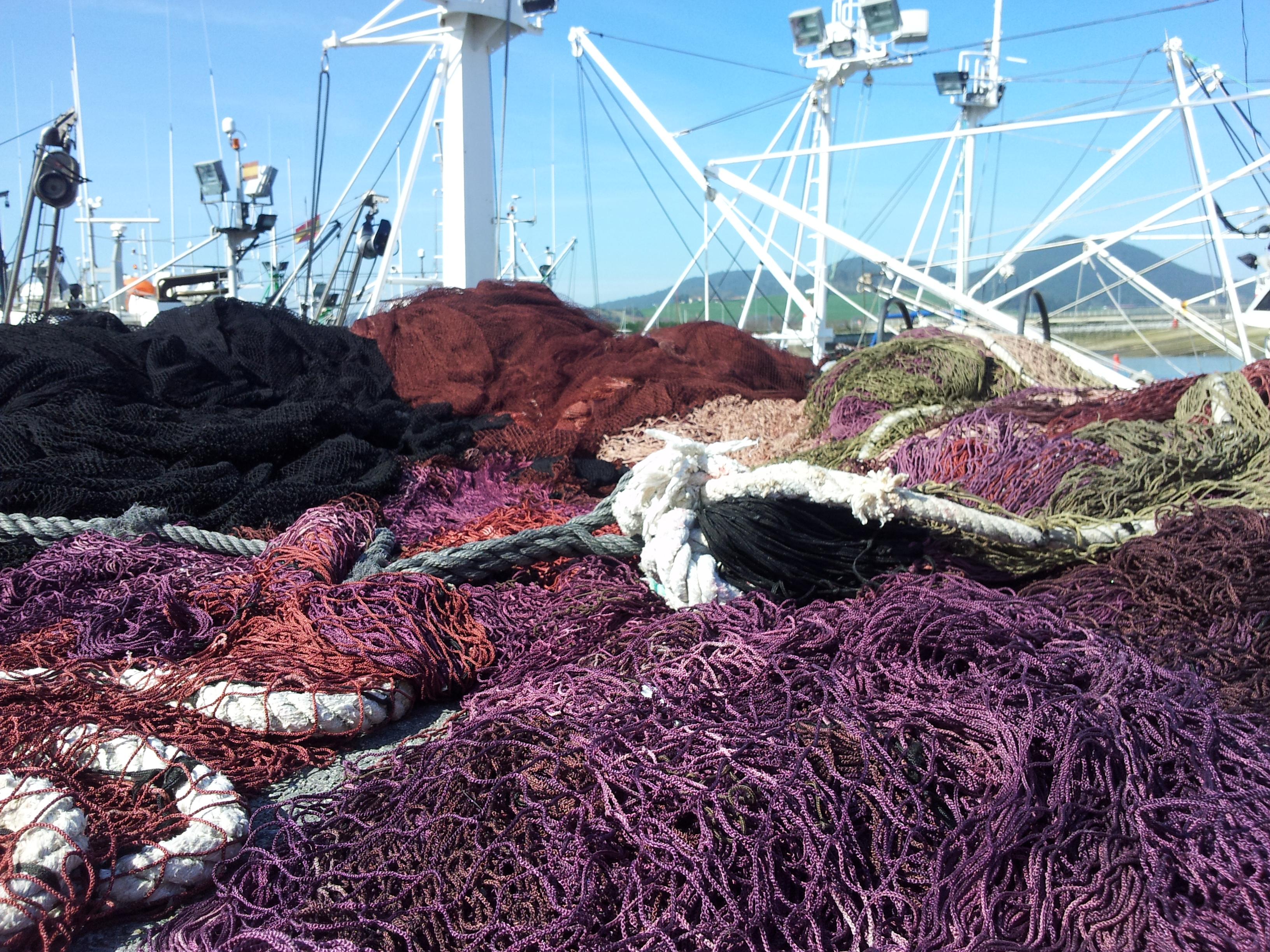 Redes de pesca