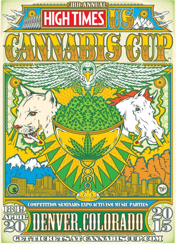 Cartel del evento Cannabis Cup