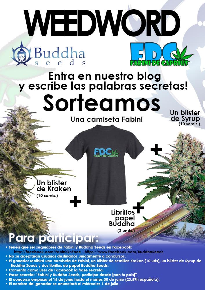 Weed Word, concurso