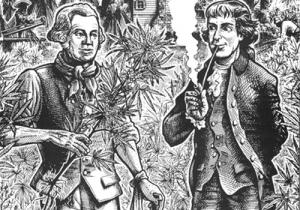 ¿Consumieron cannabis los padres fundadores?