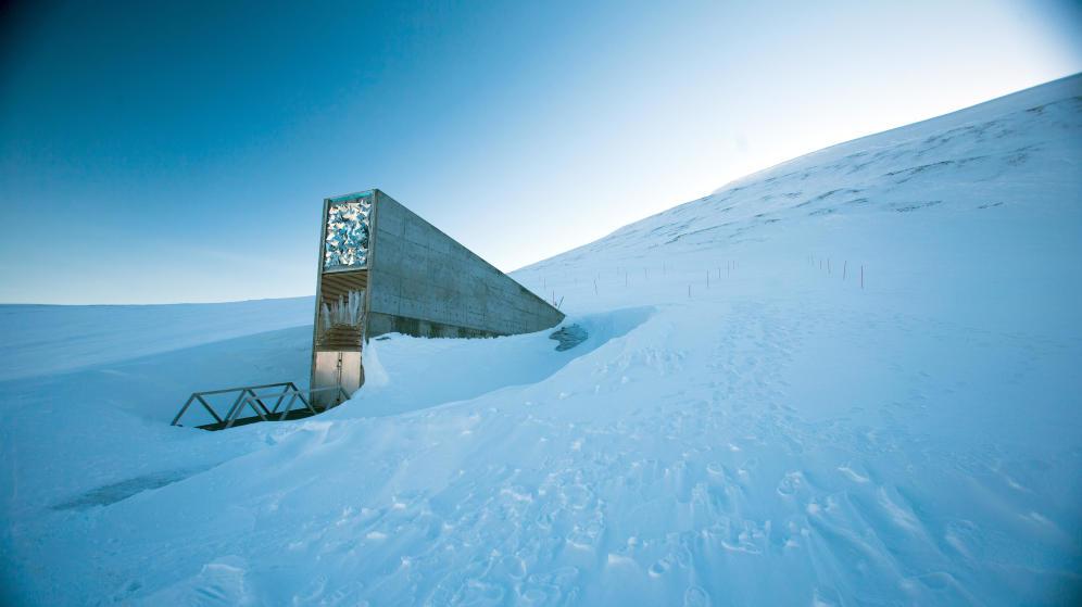 El banco de semillas es una auténtica caja fuerte, en medio del Ártico. (Corbis)