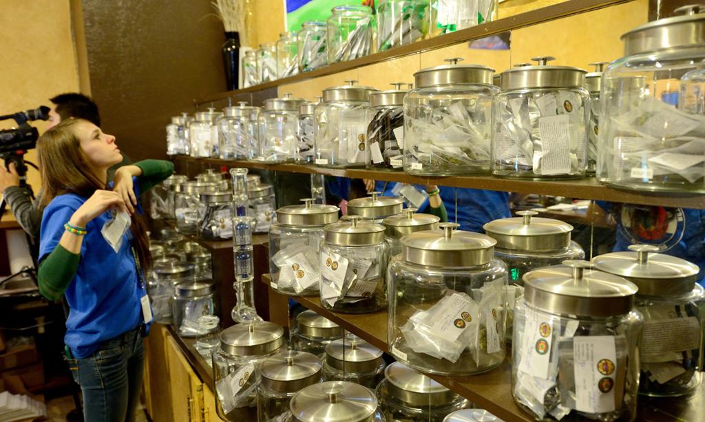 Dispensario de marihuana recreativa en Colorado