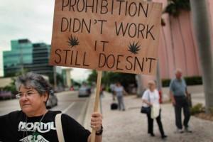Protesta en California