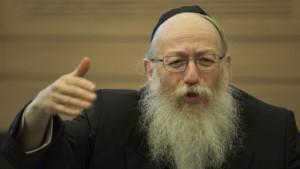 El Ministro de Sanidad Yaakov Litzman